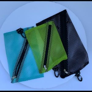Other - ✏️Set of 3 pen and pencil mesh bags
